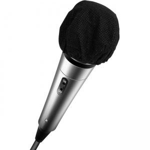 Hamilton Buhl HygenX Disposable Sanitary Microphone Covers Black (Box of 100) X19MMPBKG