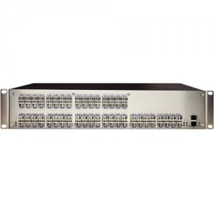 Black Box DKM FX Compact HD Video and Peripheral Matrix Switch - Fiber, 80-Port ACXC80F
