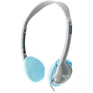 "Hamilton Buhl Disposable Sanitary Ear Cushion Covers (2.5"" Blue, 50 Pairs) HYGENX25BL"