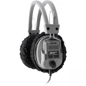 "Hamilton Buhl Disposable Sanitary Ear Cushion Covers (4.5"" Black 50 Pairs) HYGENX45BK"