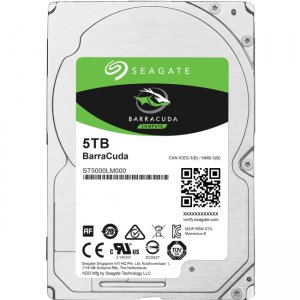 Seagate BarraCuda Hard Drive 5 TB ST5000LM000