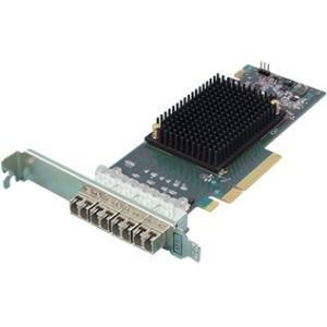 ATTO Quad-Channel 16Gb/s Gen 6 Fibre Channel PCIe 3.0 Host Bus Adapter CTFC-164P-000