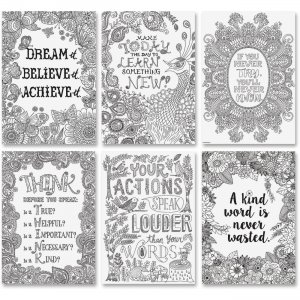 Creative Teaching Press Color-Me Inspire U Posters 3193 CTC3193