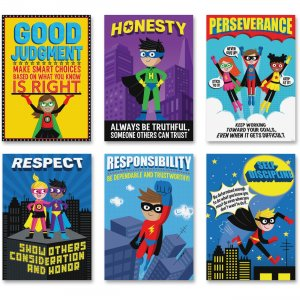 Creative Teaching Press Superhero InspireU Posters 5649 CTC5649