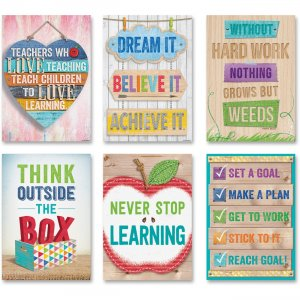 Creative Teaching Press Inspire U Poster Pack 7284 CTC7284