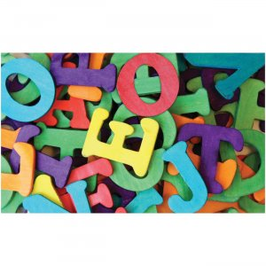 "Pacon 1-1/2"" Wooden Capital Letters AC3603 PACAC3603"