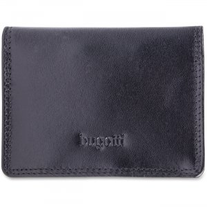 bugatti Business Card Case , BCC97349 Black BCC97349Black STBBCC97349BLK