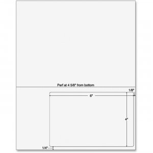 Sparco Integrated Label Form 99592 SPR99592