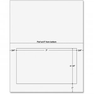 Sparco Integrated Label Form 99595 SPR99595