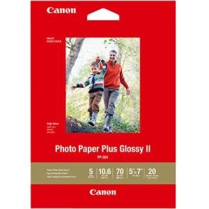 Canon Photo Paper Plus Glossy II - - 5x7 (20 Sheets) 1432C002 PP-301
