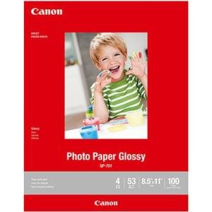 Canon Glossy Photo Paper - - LTR (100 Sheets) 1433C004 GP-701