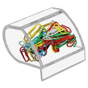 Kantek Acrylic Paperclip Holder AD40 KTKAD40