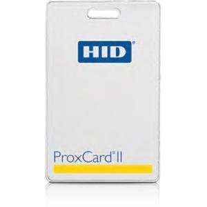 HID ProxCard II Card Durable, Value Priced Proximity Access Card 1326LSSSV