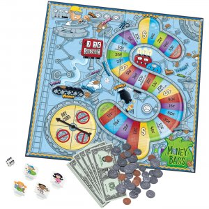 Learning Resources Money Bags A Coin Value Game LER5057 LRNLER5057