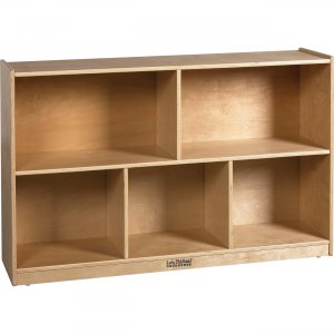 """ECR4KIDS Birch 30""""H Storage Cabinet - 5 Compartments ELR-0420 ECR0420"""