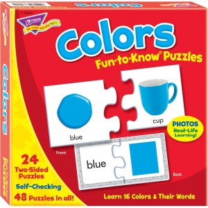 TREND Colors Fun-to-know Puzzles T-36001 TEP36001