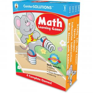 CenterSOLUTIONS Math Learning Games Board Game 140051 CDP140051