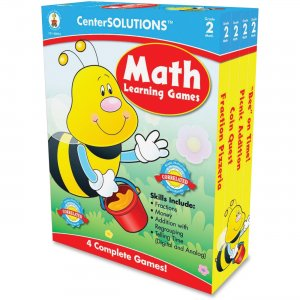 CenterSOLUTIONS Grade 2 Math Learning Games 140052 CDP140052
