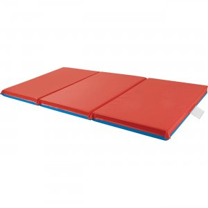 """ECR4KIDS Premium Folding Rest Mat, 3-Section, 48""""x24""""x1"""" ELR-0574 ECR0574"""