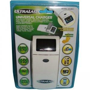 Ultralast Universal Li-Ion / Ni-Cd / Ni-Mh Battery Charger ULUBC1
