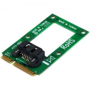 StarTech.com mSATA to SATA HDD / SSD Adapter - Mini SATA to SATA Converter Card MSAT2SAT3