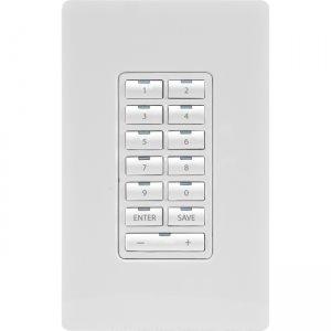 AMX Metreau 13-Button Ethernet Expansion Keypad FG5793-12-WH MET-13X
