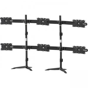 """Amer Hex Flat Panel Max 32 """"Monitor Stand with VESA Mounting Support AMR6S32"""