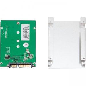 "SYBA Multimedia Driverless 2.5"" SATA III to M.2 SSD Adapter SY-ADA40087"