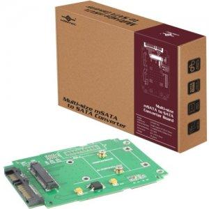 Vantec Multi-size mSATA to SATA Converter Board UGT-MST100