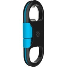 Kanex GOBUDDY+ ChargeSync Cable+ Bottle Opener KUC01BL