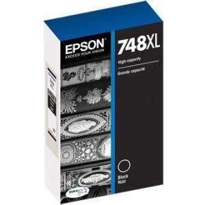 Epson Black Ink Cartridge, High Capacity (TXL120) T748XL120 748