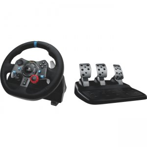 Logitech Driving Force Racing Wheel For Playstation 3 And Playstation 4 941-000110 G29