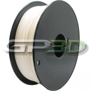 GP3D White - PLA-1.75mm-3D Filament 3D-PLA-1.75WT