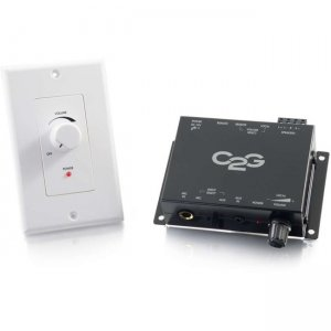 C2G Compact Amplifier With External Volume Control 40914