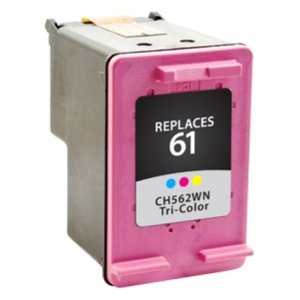 West Point Tri-Color Ink Cartridge with Ink Monitoring Technology for HP CH562WN (HP 61) 117344