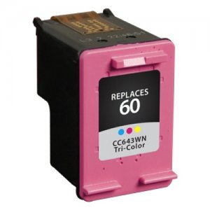 West Point Tri-Color Ink Cartridge for HP CC643WN (HP 60) 116303