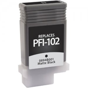West Point Matte Black Ink Cartridge for Canon PFI-102 118062