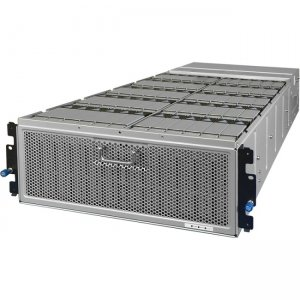 HGST Fully Populated Enclosure with 60 Ultrastar He8 8TB Drive Modules 1ES0063 4U60