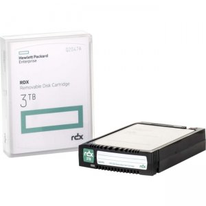 HP RDX 3TB Removable Disk Cartridge Q2047A