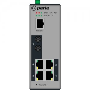 Perle Industrial Managed Ethernet Switch 07013000 IDS-305G-TSD40