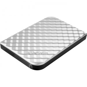 Verbatim 1TB Store 'n' Go Portable Hard Drive, USB 3.0 - Diamond Silver 99373