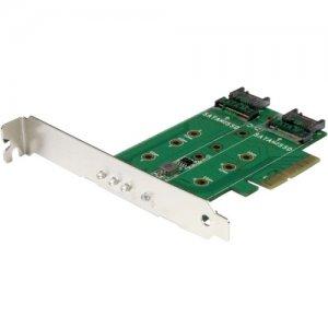 StarTech.com 3-port M.2 NGFF SSD Adapter Card PEXM2SAT32N1