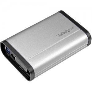 StarTech.com USB 3.0 Capture Device for High Performance DVI Video - 1080p 60fps - Aluminum USB32DVCAPRO