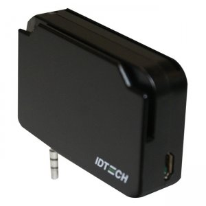 ID TECH UniPay 1.5 Mobile Audio Jack MSR and Smart Card Reader IDMR-AB83133