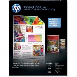 HP 40 lb Glossy Brochure Paper Q6611ACT HEWQ6611ACT