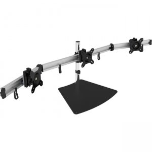 """SIIG Easy-Adjust Triple Monitor Desk Stand - 13"""" to 27"""" CE-MT2111-S1"""