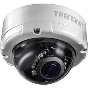 TRENDnet Indoor / Outdoor 4 MP Varifocal PoE IR Dome Network Camera TV-IP345PI