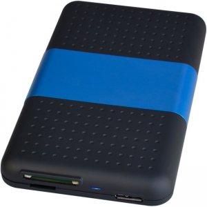 """SIIG USB 3.0 to SATA Hard Drive with SD Reader Enclosure - 2.5"""" JU-SA0S12-S1"""