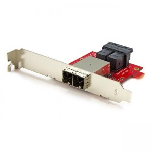 StarTech.com Dual SFF-8643 to SFF-8644 Mini-SAS HD Adapter SFF86448PLT2