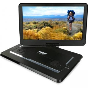 Pyle Portable CD/DVD Player PDV156BK